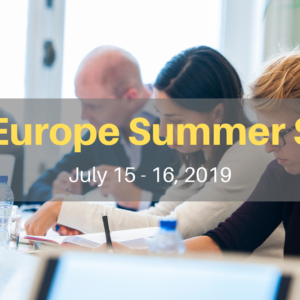 Sign up for the first-ever Clear Europe Summer School