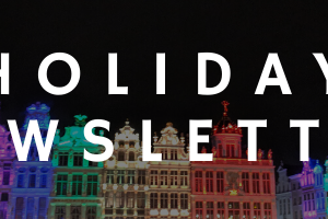 Our holiday newsletter is here